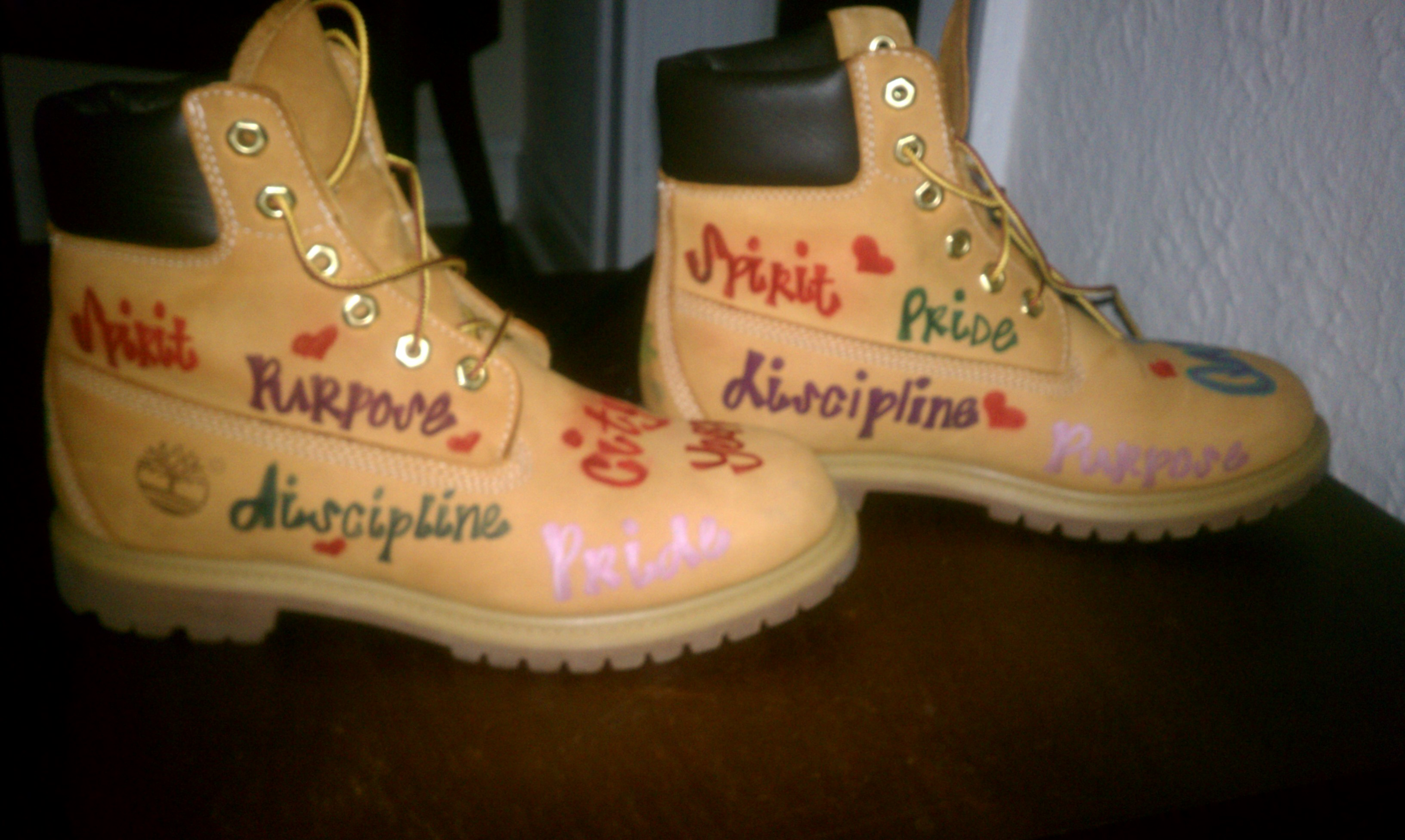 Thomas jefferson ninth grade academy city year cleveland these are my boots that i designed so i could not only talk the talk but also walk the walk biocorpaavc Images